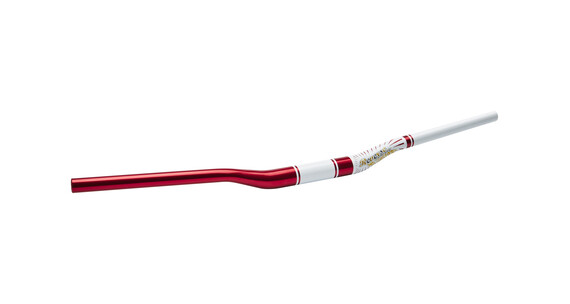 Reverse Style 76 - Manillar MTB - Ø 31.8 mm rojo/blanco